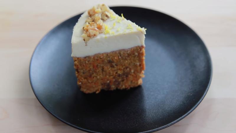 Çiğ Havuçlu Pasta – Havuçlu Vegan Pasta Tarifi