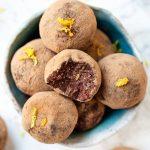 Vegan Çikolatalı, Portakallı Mantar Topları