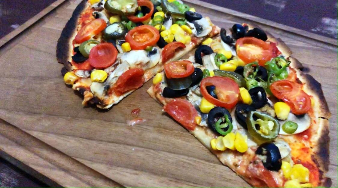 10 Dakikada Hazır Vegan Pizza